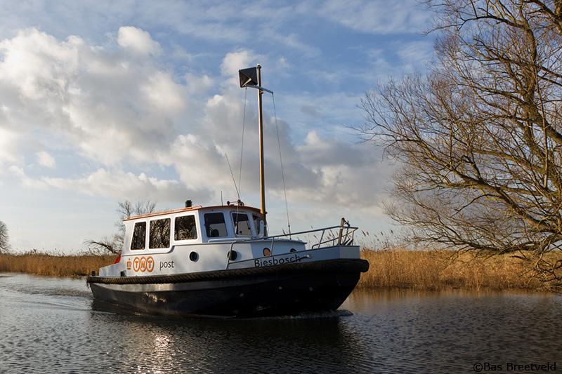 biesbosch postboot