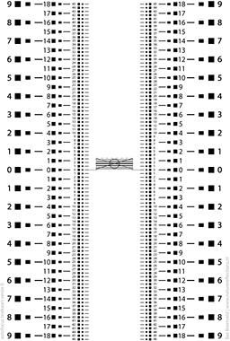 auto focus testkaart
