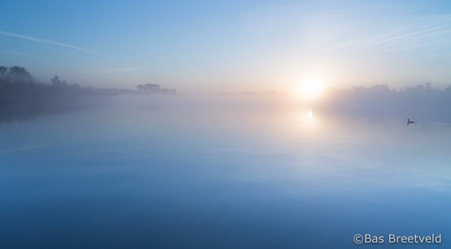 zonsopkomt Biesbosch