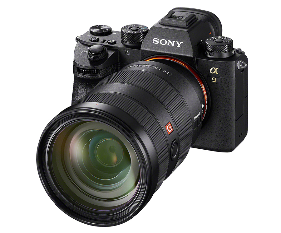Mirrorless Sony alpha 9