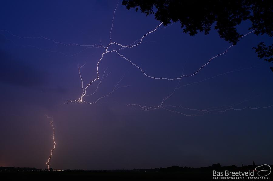 onweer Biesbosch